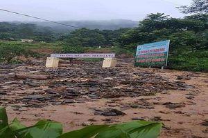 Thanh Hóa: Nhiều huyện miền núi sạt lở, ách tắc do mưa lớn kéo dài