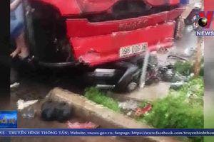 Gia Lai: Xe khách lao vào khu chợ, 3 người thiệt mạng