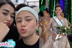 Nguyễn Tường San - Cô bạn thân 10X của Bảo Hân 'Về nhà đi con' là Á hậu 2 tại Miss World Vietnam 2019