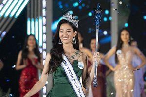 Những hình ảnh ấn tượng của Lương Thùy Linh trong cuộc thi Hoa hậu Thế giới Việt Nam 2019