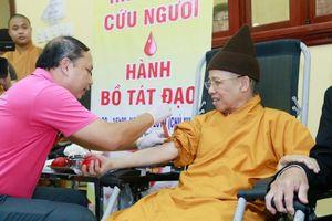 Ngày hội Hiến máu cứu người - Hành Bồ Tát đạo
