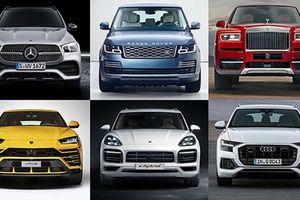 Top 10 mẫu xe SUV siêu sang đắt nhất thế giới