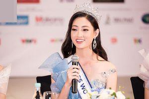 Hoa hậu thế giới Việt Nam Lương Thùy Linh tự tin trả lời về tin đồn mua giải