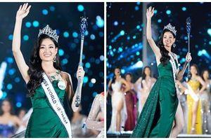 NTK váy dạ hội của Miss World Vietnam 2019: 'Lương Thùy Linh rất ngoan, lễ phép và hiểu chuyện'