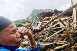 Sa Ná – Nơi 10 người dân bị cuốn mất tích tan hoang sau cơn đại hồng thủy