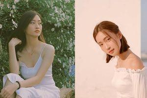 'Nàng thơ' Juky San và tân hoa hậu Lương Thùy Linh cùng bị ví là 'phiên bản Đỗ Mỹ Linh' nhưng soi kĩ thì khác biệt hẳn