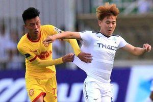 Cận cảnh bàn thắng khiến HAGL mất 3 điểm ở phút bù giờ trước Nam Định