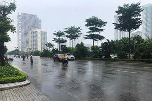 Hà Nội: Các điểm úng ngập khu vực quận cơ bản rút hết nước