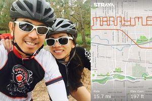 Đạp xe theo bạn trai hơn 24 km không dám hỏi một lời, cô gái sốc vì màn cầu hôn ở đích