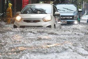 Hà Nội: Những điểm ngập nặng do mưa lớn sau bão số 3