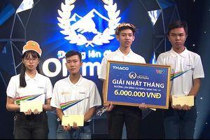 Nam sinh Hải Dương thắng cách biệt ở cuộc thi tháng Olympia