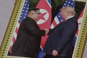 Triều Tiên phát hành tem kỷ niệm một năm thượng đỉnh Mỹ-Triều