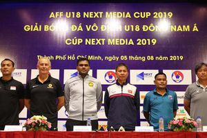 Trước giờ mở màn giải vô địch U18 Đông Nam Á 2019