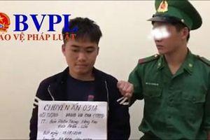 Bắt quả tang một thầy giáo người Lào vận chuyển 23.000 viên ma túy tổng hợp
