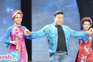 Thừa nhận 'mập' nhưng Quang Lê vẫn tự tin catwalk trên sóng truyền hình