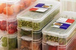 Đồ đựng thực phẩm làm bằng nhựa nhiệt dẻo tái chế (PET) bị cấm cửa sang Hàn Quốc