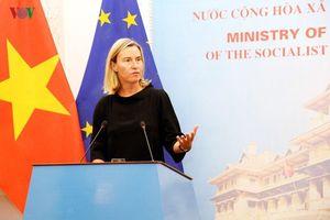 EU chia sẻ quan ngại về căng thẳng gia tăng ở Biển Đông