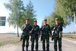 Đội bắn tỉa Việt Nam xuất sắc lọt vào vòng 2