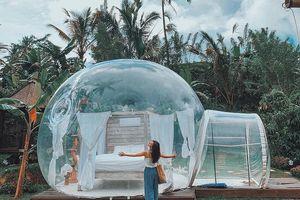 Cực hot: Xuất hiện Khách sạn bong bóng ở Đà Lạt 'chất' không kém Bali