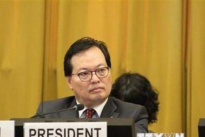 Việt Nam khẳng định ủng hộ các nỗ lực giải trừ vũ khí hạt nhân
