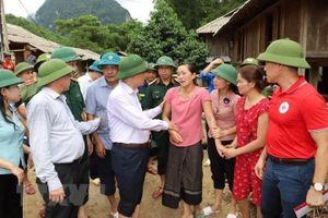 Các địa phương nỗ lực khắc phục hậu quả bão lũ và mưa dông