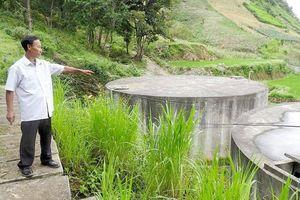 Sơn La: Dân khát bên công trình nước sạch tiền tỷ bỏ hoang