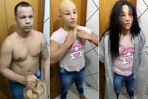 Trùm xã hội đen đeo mặt nạ giả thành con gái mình để vượt ngục