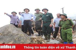 Bí thư Tỉnh ủy Trịnh Văn Chiến: Khắc phục nhanh nhất hậu quả mưa lũ, hỗ trợ nhanh nhất, nhiều nhất để bà con sớm ổn định cuộc sống