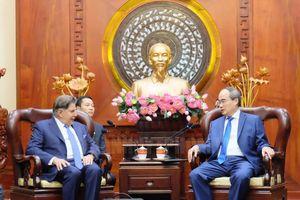 TP.Hồ Chí Minh luôn tạo điều kiện cho phía Đức trong các hoạt động hợp tác