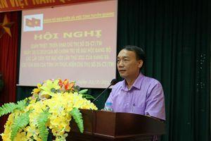 Đảng bộ BHXH Tuyên Quang quán triệt, triển khai Chỉ thị số 35-CT/TW của Bộ Chính trị