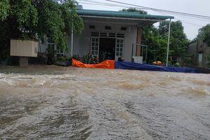 Hàng trăm ngôi nhà ở Đắk Lắk bị ngập sau mưa lớn