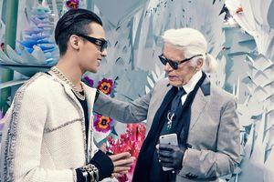 G-Dragon xuất hiện sang chảnh tại sự kiện của Chanel