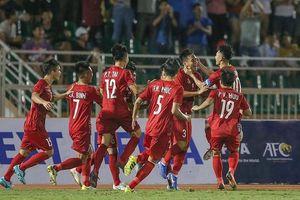 U18 Việt Nam may mắn giành 3 điểm trước Malaysia