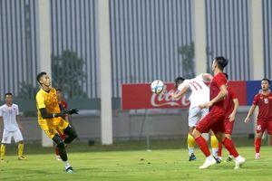 Mai Xuân Quyết tỏa sáng trong trận đấu tập của U.22 Việt Nam