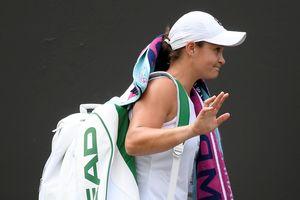 Tay vợt số 1 thế giới Barty bị loại sớm ở vòng 2 giải Rogers Cup