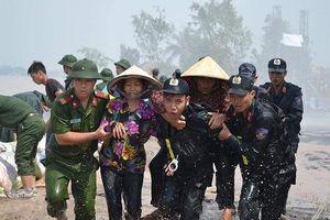 Đắk Lắk: Huyện Ea Súp chìm trong biển nước sau 1 ngày đêm mưa xối xả