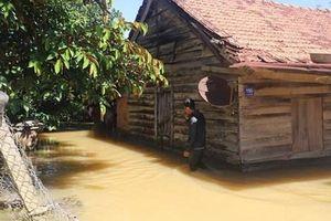 Mưa lớn kéo dài gây ngập cục bộ nhiều nơi tại tỉnh Lâm Đồng