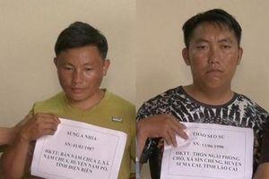 Công an Lào Cai bắt giữ hai đối tượng mua bán trái phép 10 bánh heroin