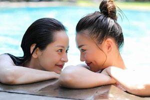 Thanh Hằng đăng ảnh 'đắm đuối' bên Chi Pu: Nhá hàng phim 'giật chồng' mà cứ ngỡ 'bách hợp' là sao?