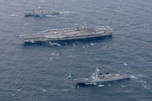 Mỹ đưa cụm tác chiến tàu sân bay Ronald Reagan vào Biển Đông