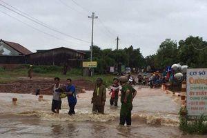 Đắk Lắk: Mưa lớn kéo dài gây ngập ở nhiều địa phương