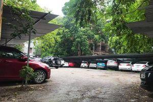 Hà Nội : Nhiều bãi xe có dấu hiệu trái phép hoạt động tại đường Hoàng Quốc Việt