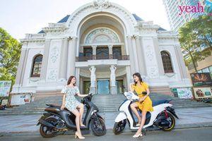 Sở hữu xế yêu Yamaha Janus, phái đẹp tự tin khoe dáng đẹp và chân dài