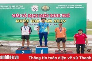 Trình làng lứa VĐV mới, kế cận, điền kinh Thanh Hóa thi đấu thành công tại giải trẻ vô địch quốc gia 2019