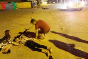 Thiếu niên điều khiển xe máy gây tai nạn nghiêm trọng