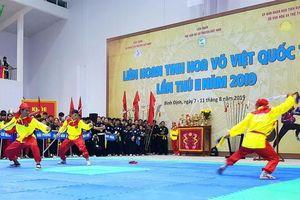 Khai mạc liên hoan 'Tinh hoa Võ Việt quốc tế'