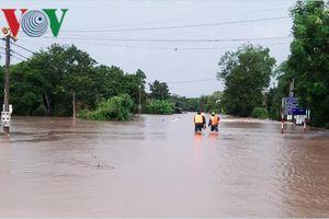 Mưa lớn nhất từ đầu mùa, nhiều nơi ở Đắk Lắk bị ngập nặng