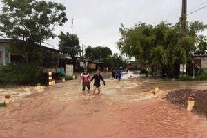 Mưa lũ gây nhiều thiệt hại ở các địa phương