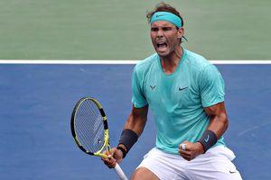 Rogers Cup: Sân nhanh, bóng nặng, trời mưa không thể cản Nadal giành trận thắng Masters thứ 378