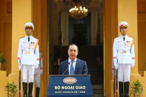 Lễ thượng cờ ASEAN kỷ niệm 52 năm thành lập